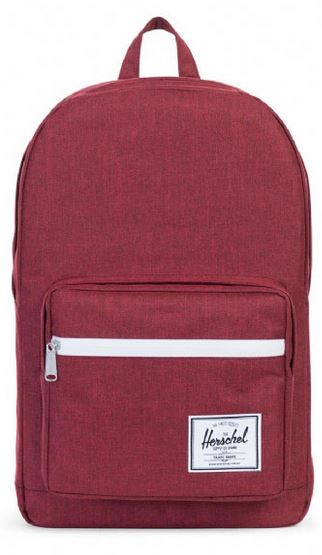 Pop Quiz Backpack Wine Crosshatch