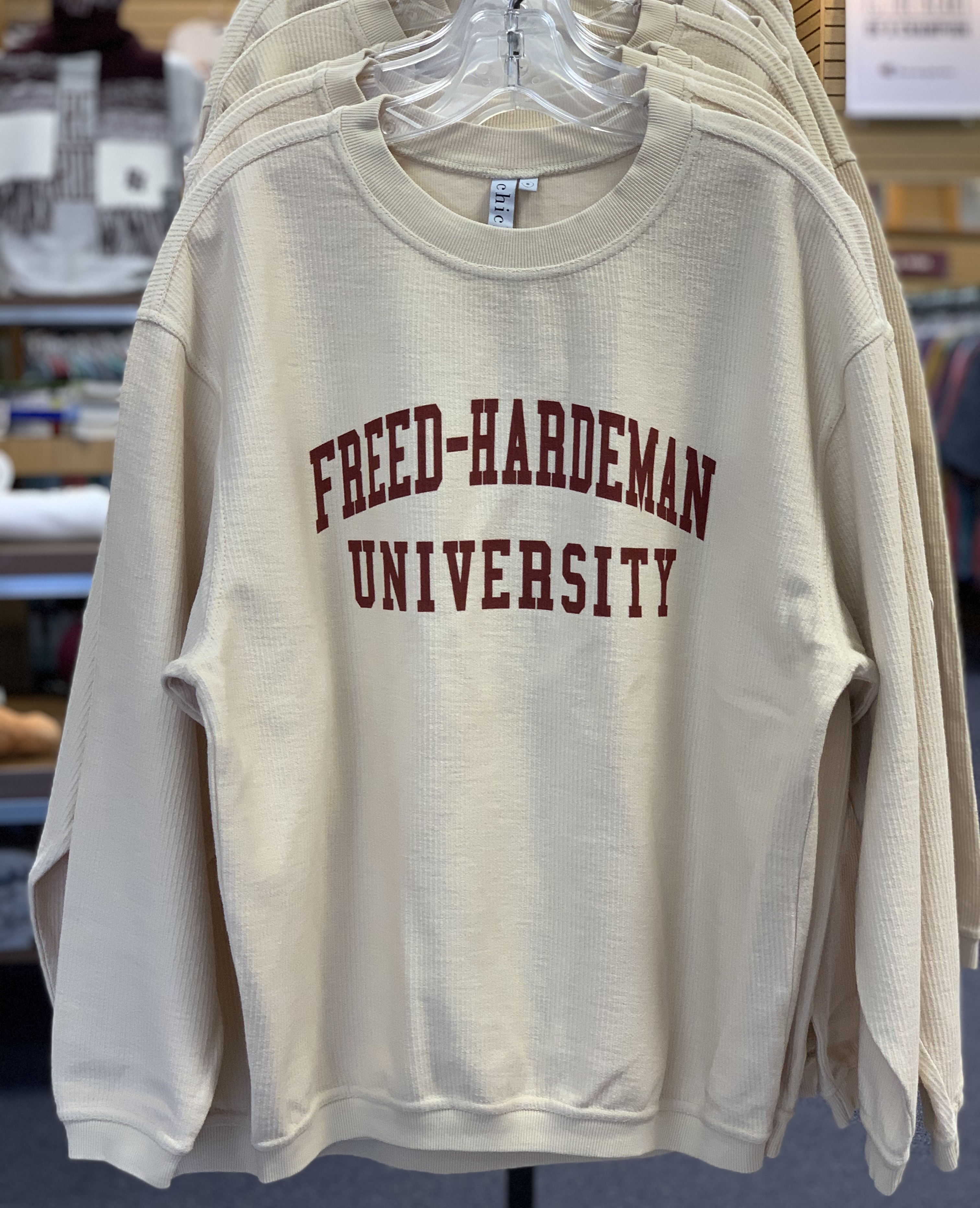 FHU Corded Crew