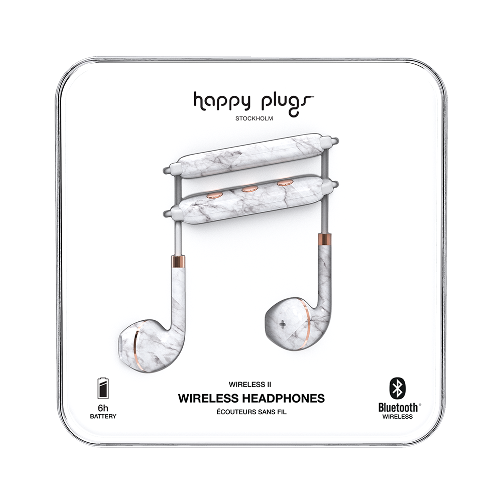 Happy Plugs Earbuds Plus Wireless II