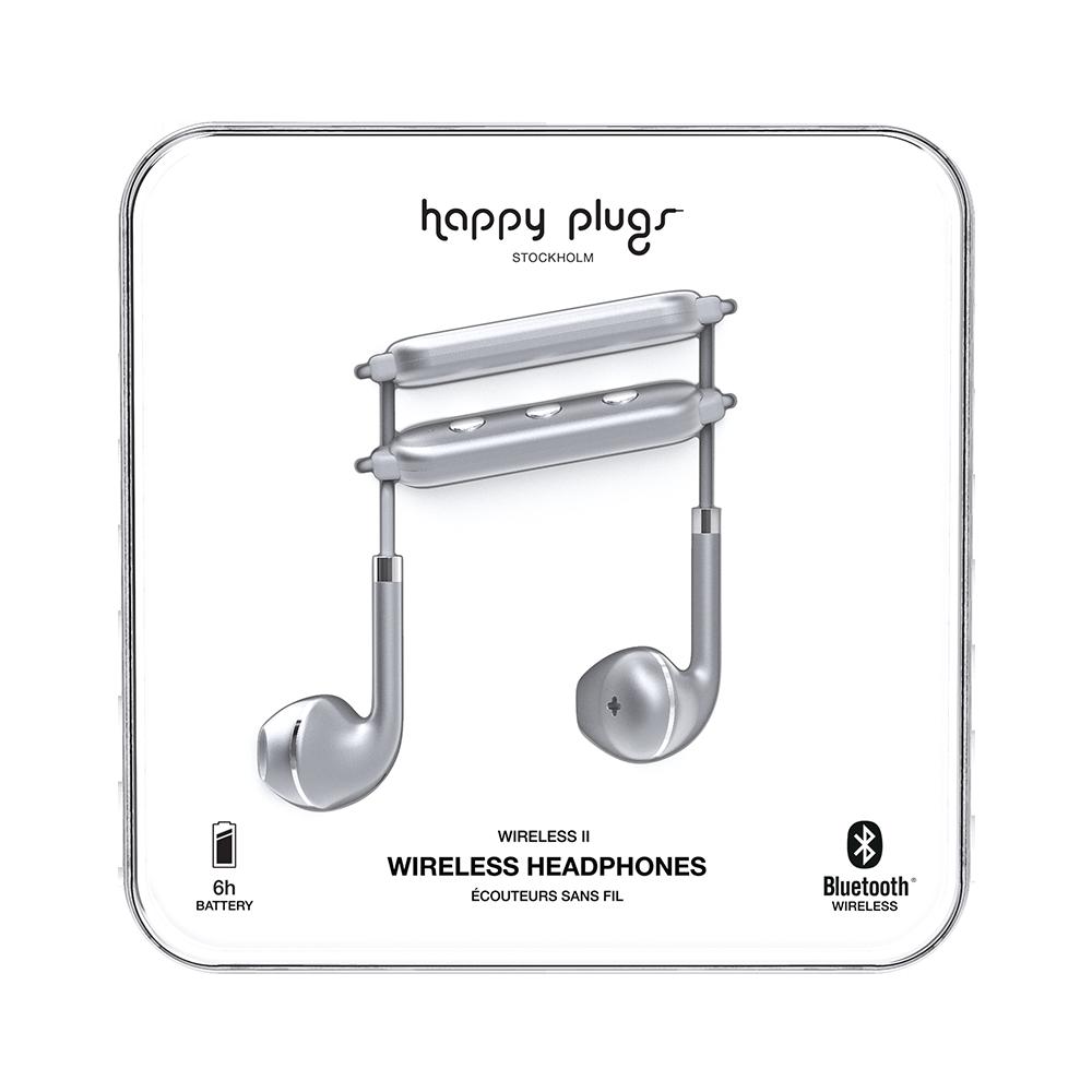Happy Plugs Earbuds Plus Wireless II