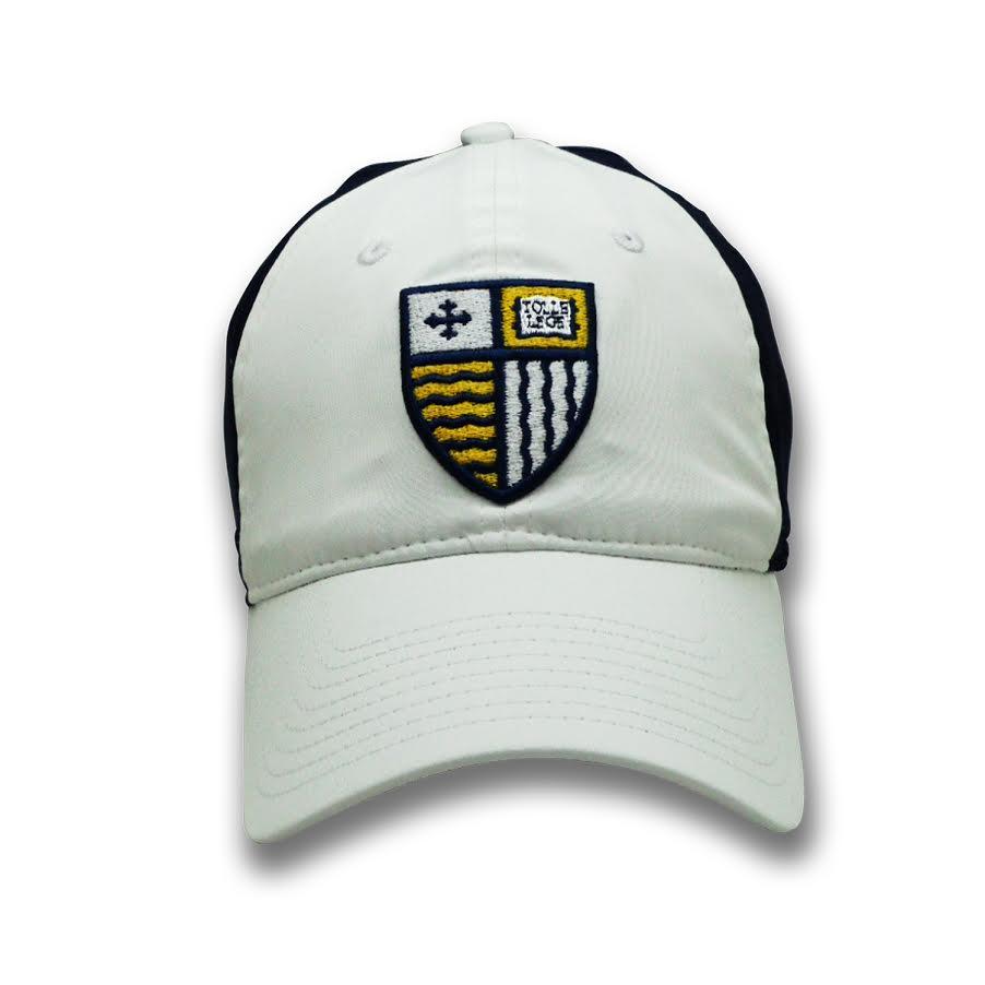 Navy/White Shield Hat