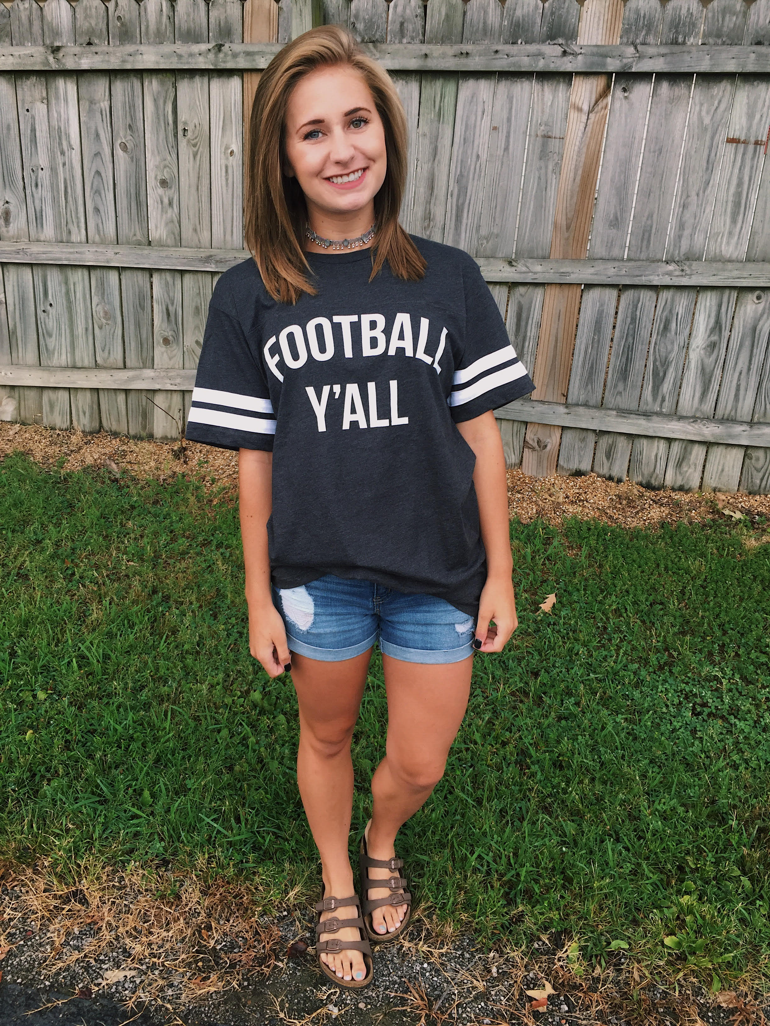 Football Y'all Vintage T Shirt