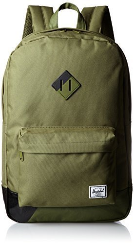 Heritage Backpack Army with Army/Black Rubber