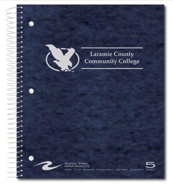 LCCC 5-Subject Notebook
