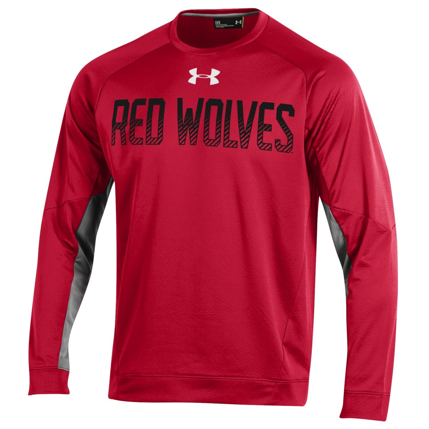 Red Wolves Players Fleece Crew