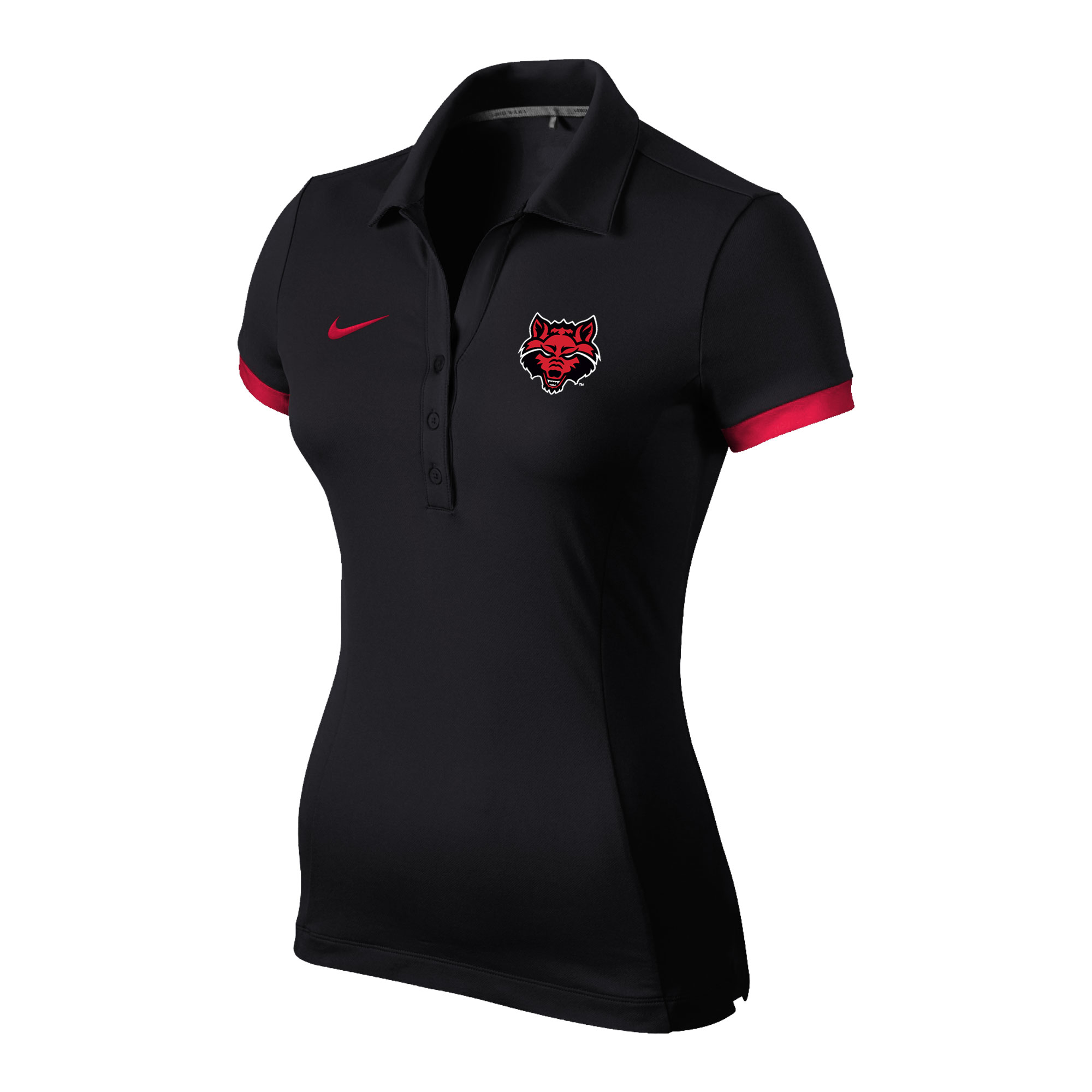Red Wolves Womens Polo