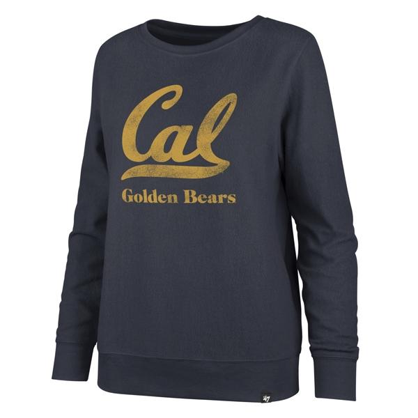 Cal Bears '47 Women's Encore Throwback Fleece Crew