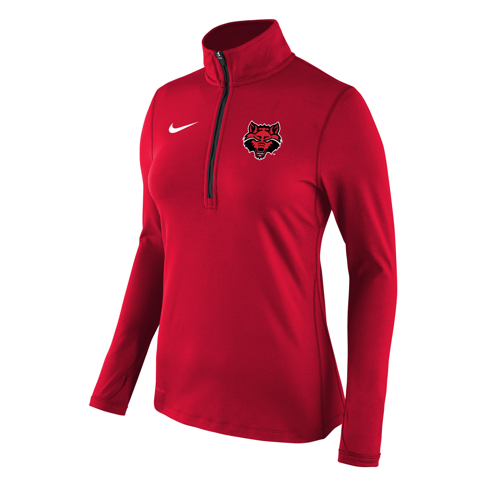Red Wolves Womens Element 1/2 Zip Top