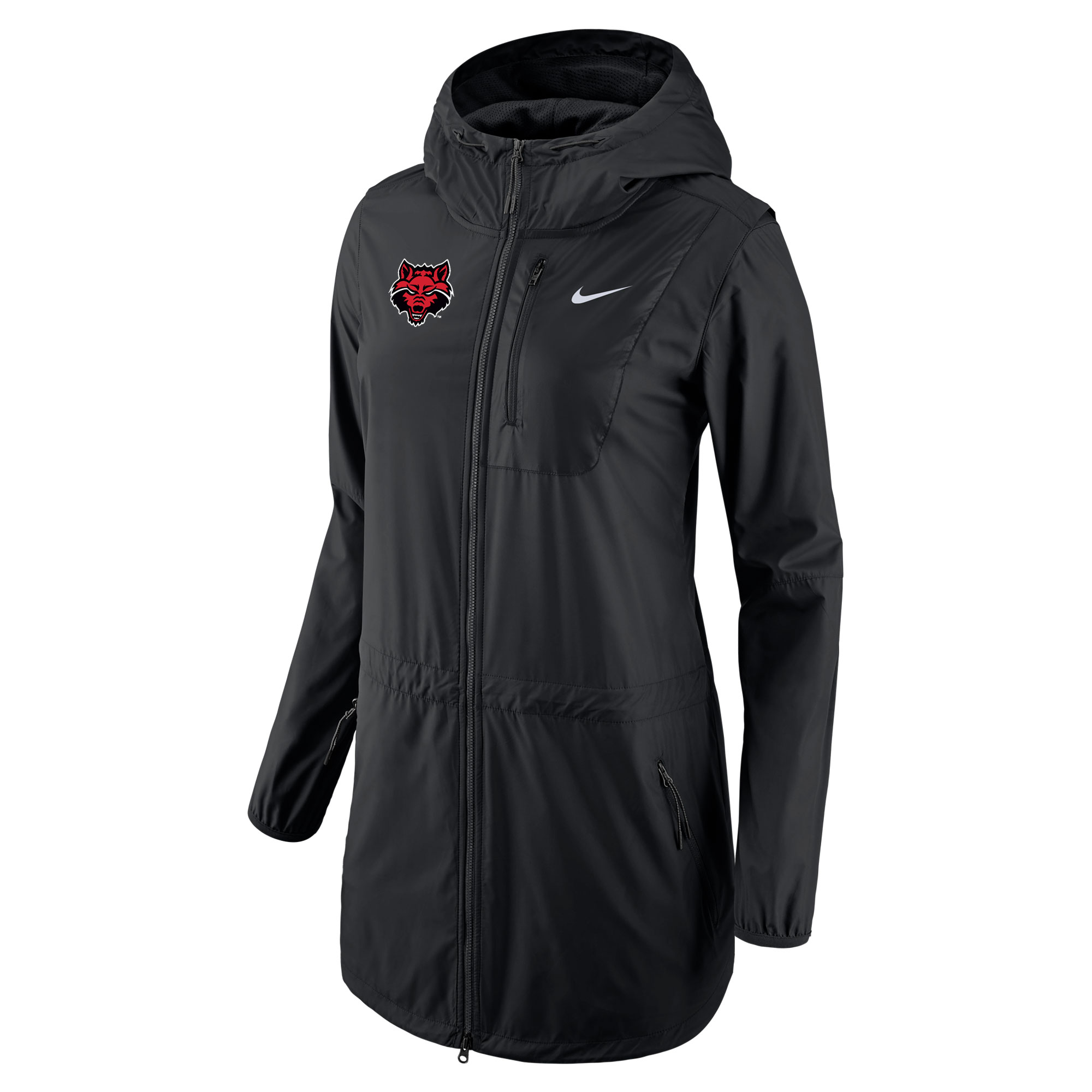 Red Wolves Womens Tote FZ Jacket