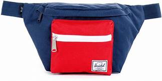 Seventeen Hip Pack Navy/Red