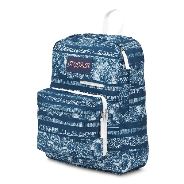 JanSport DigiBreak Midnight Sky Floral Stripe