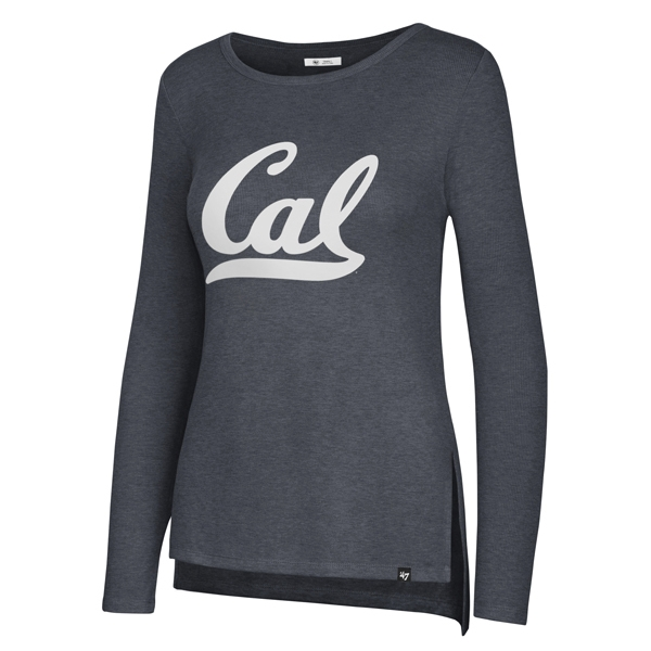 Cal Bears Women's Midnight Campbell Rig LS Tee
