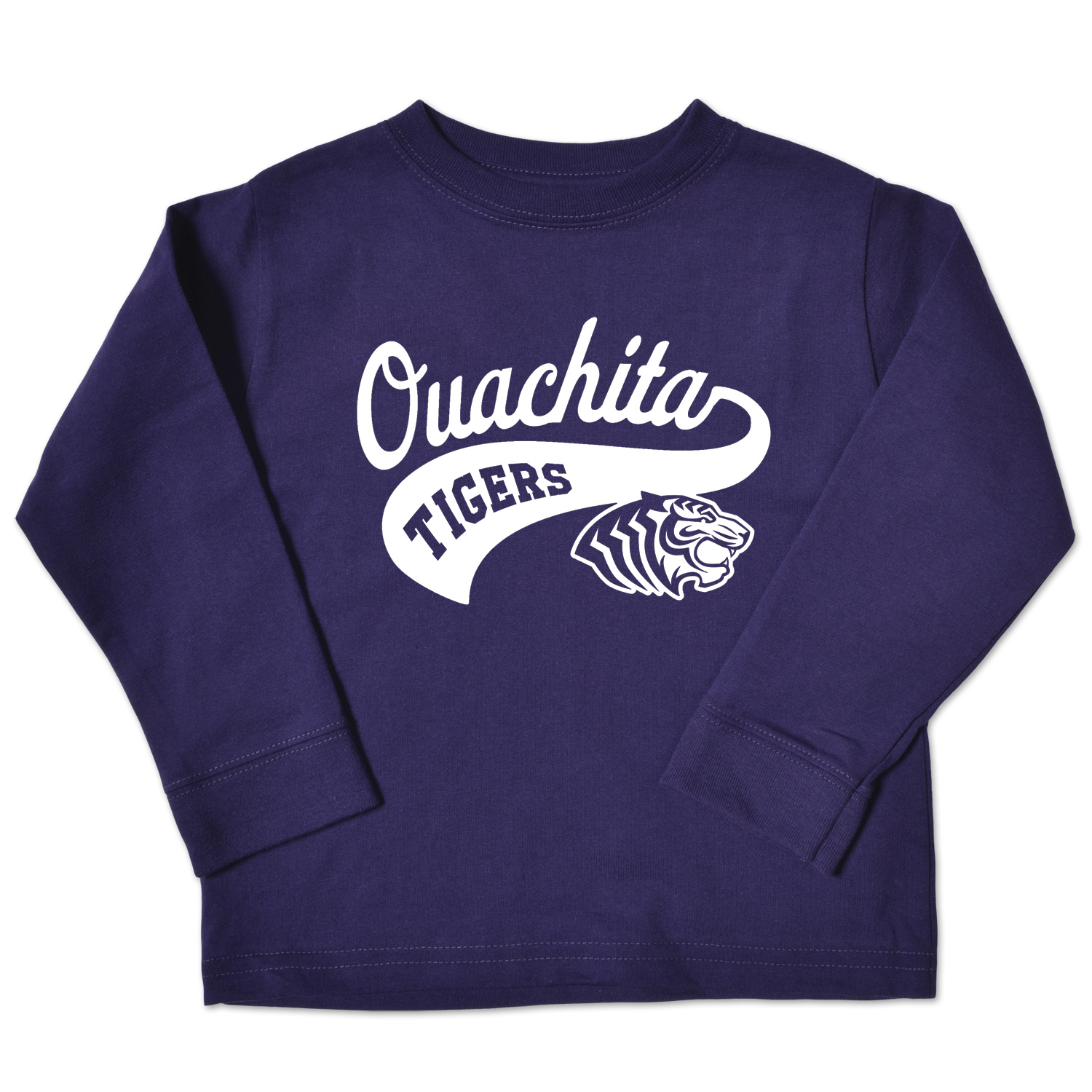 OUACHITA TIGERS TODDLER LS CREW