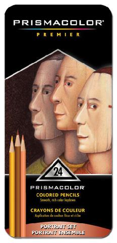 Prismacolor Premier Colored Pencil Portrait Set/24