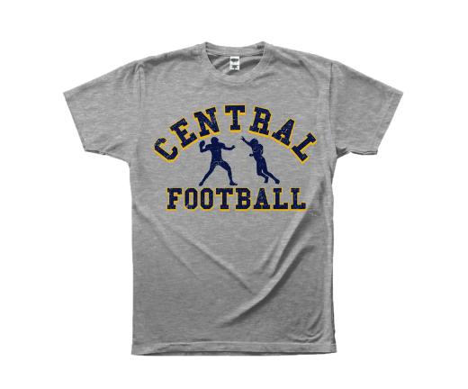 Central Football Tee