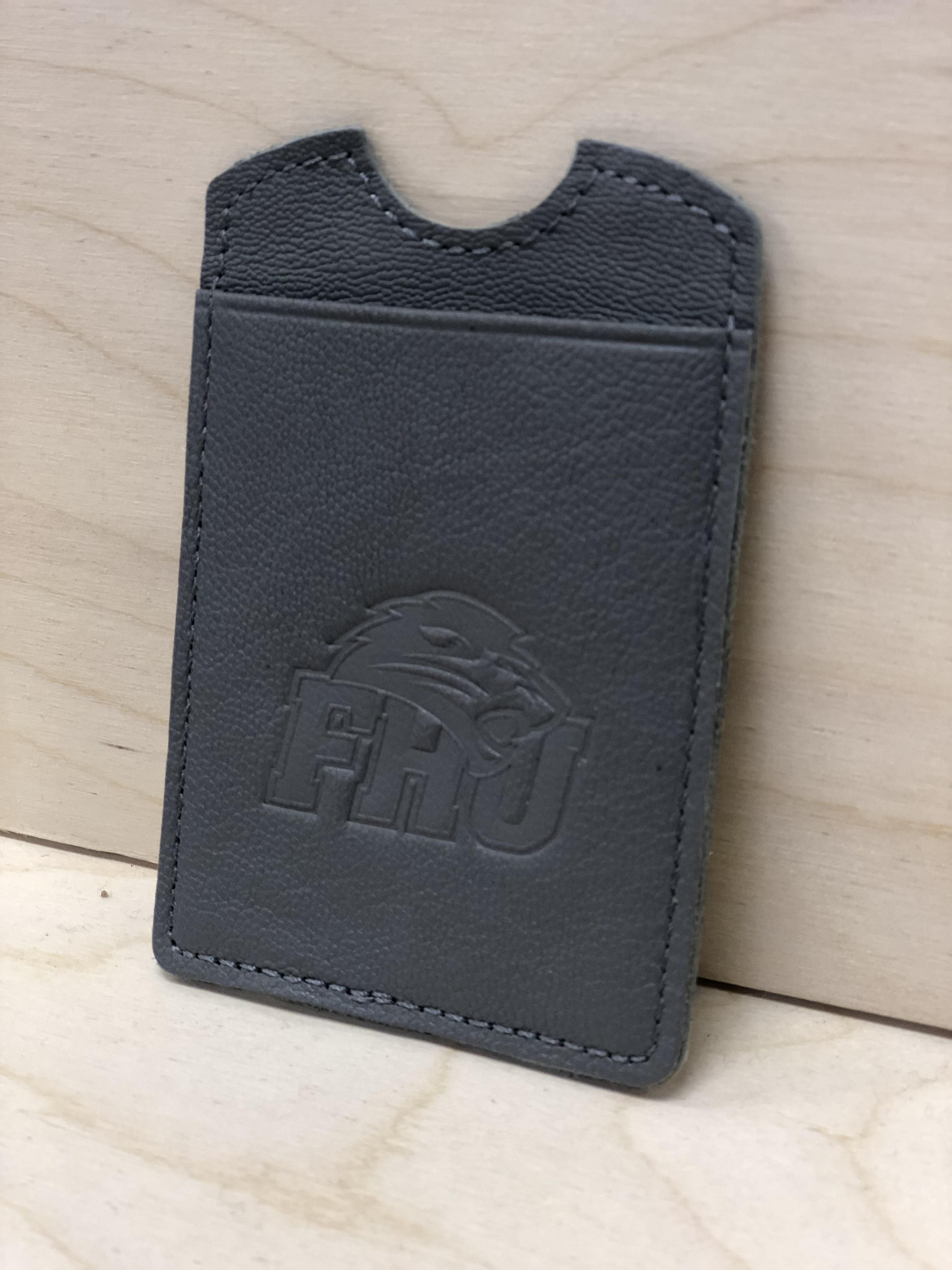 Gunmetal Media Wallet