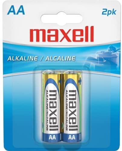Maxell Alkaline Batteries AA 2Pk