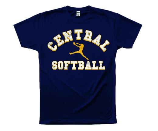 Central Softball Tee