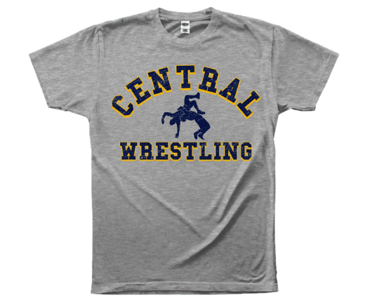 Central Wrestling Tee