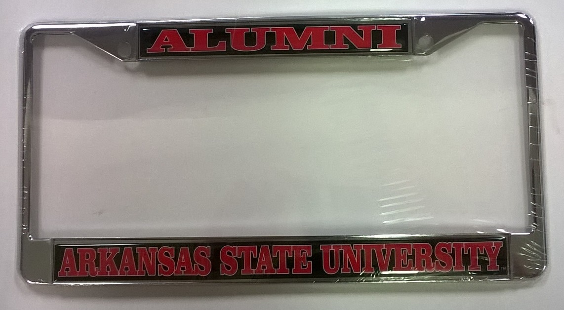 Arkansas State Alumni Domed Plate Frame