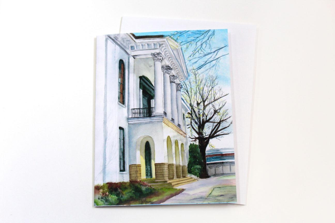 Notecard - Courthouse Morning