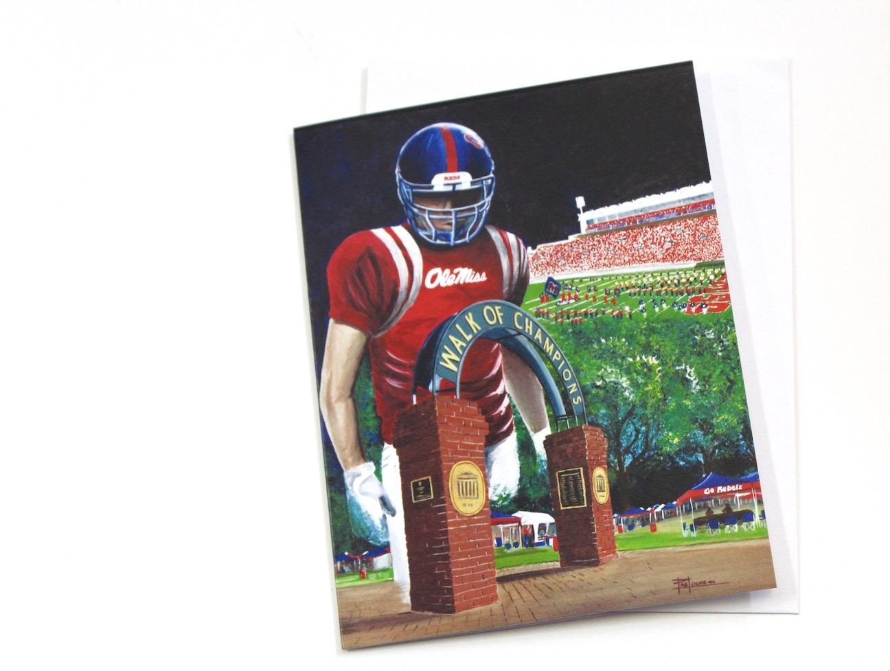 Notecard - Spirit of Ole Miss