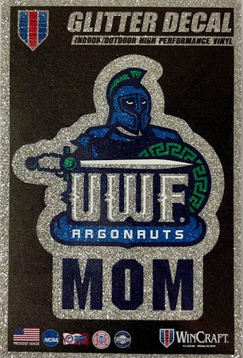 Mom Decal with Glitter