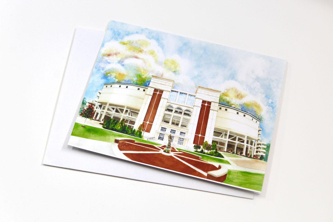 Notecard - Vaught-Hemingway Stadium