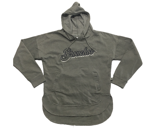 Lady Bronchos Vintage Washed Hood