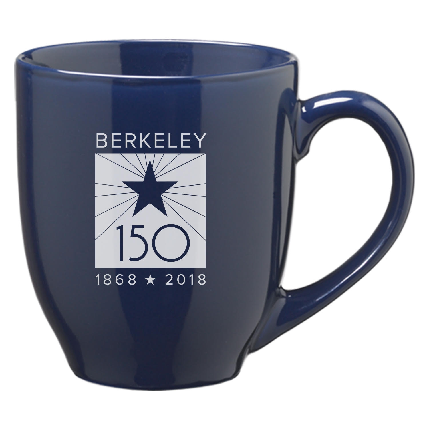 Cal Bears 16oz Solid Bistro Mug Berkeley 150