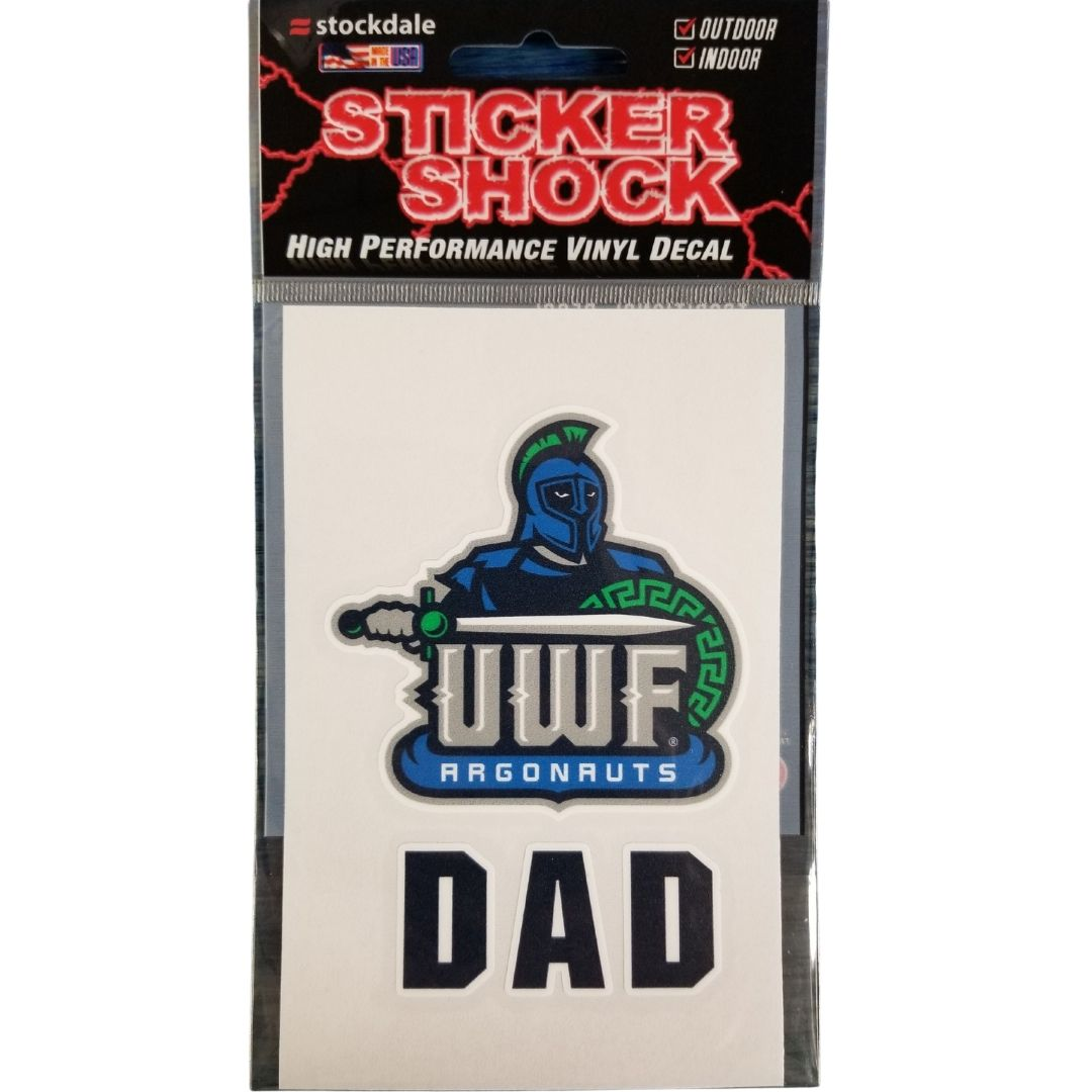"3x5"" Dad Window Logo"