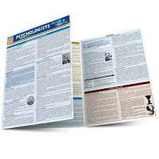 Psychologists History & Theories QuickStudy Laminated Study Guide