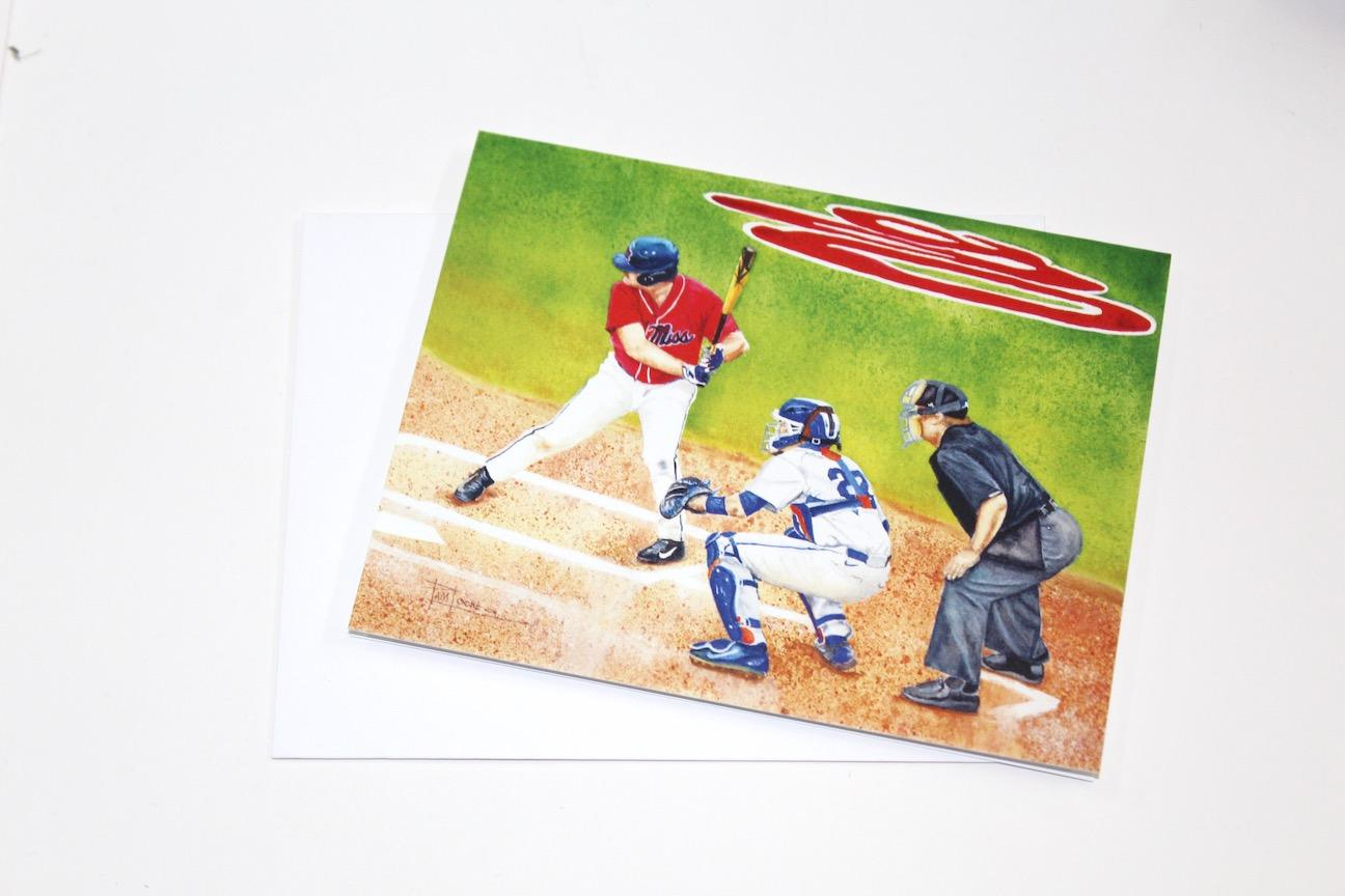 Notecard - Batter Up