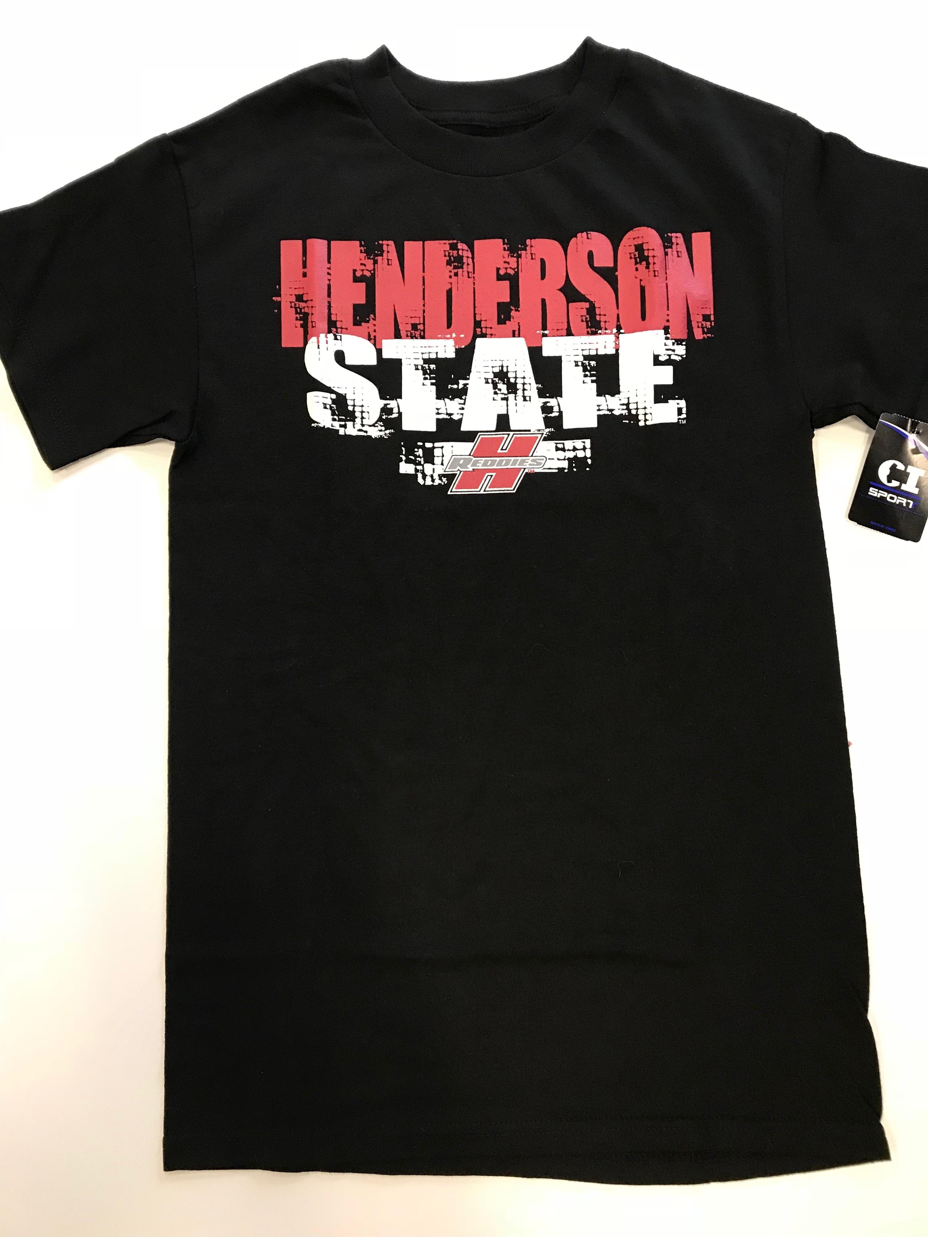 BLACK HENDERSON STATE TSHIRT