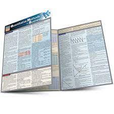Quantitative Methods for Business QuickStudy Laminated Study Guide