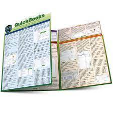 QuickBooks QuickStudy Laminated Study Guide