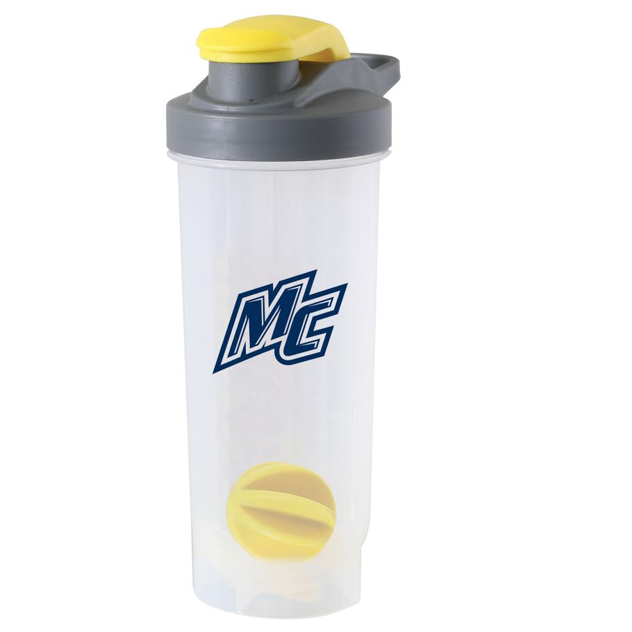 Yellow Game Day Shaker Bottle