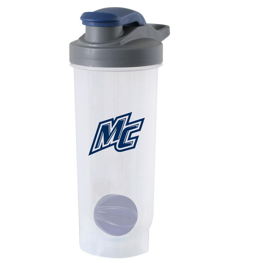 Navy Game Day Shaker Bottle