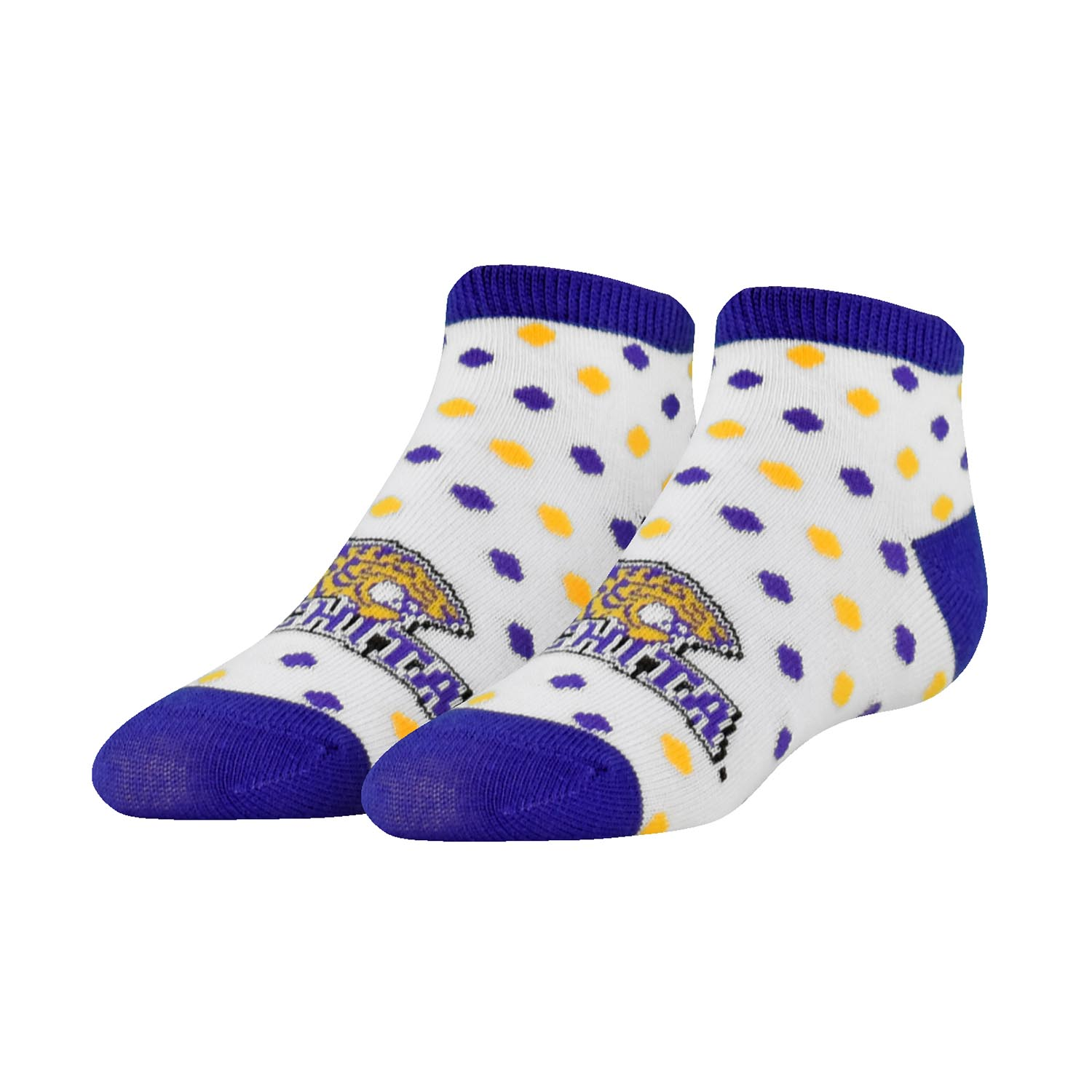 OUACHITA DOTS KIDS SOCKS