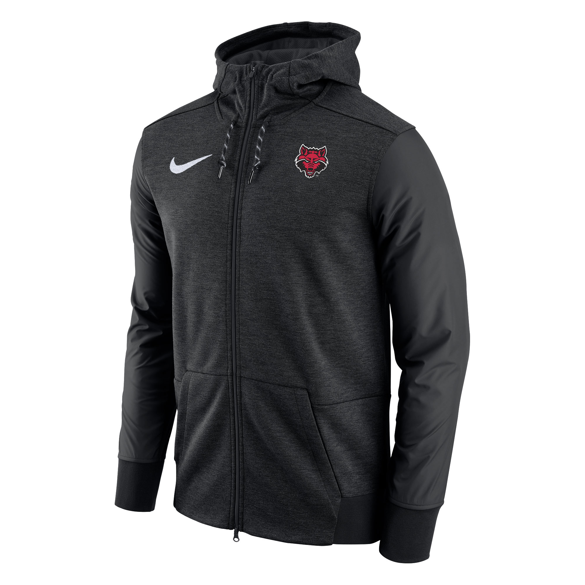 Red Wolves FZ Travel Jacket