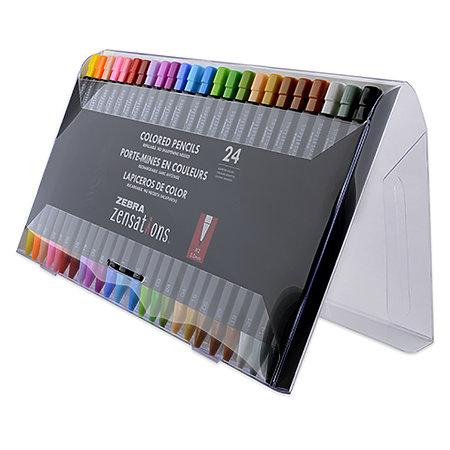 Zebra Zensations Mechanical Colored Pencil Set/24