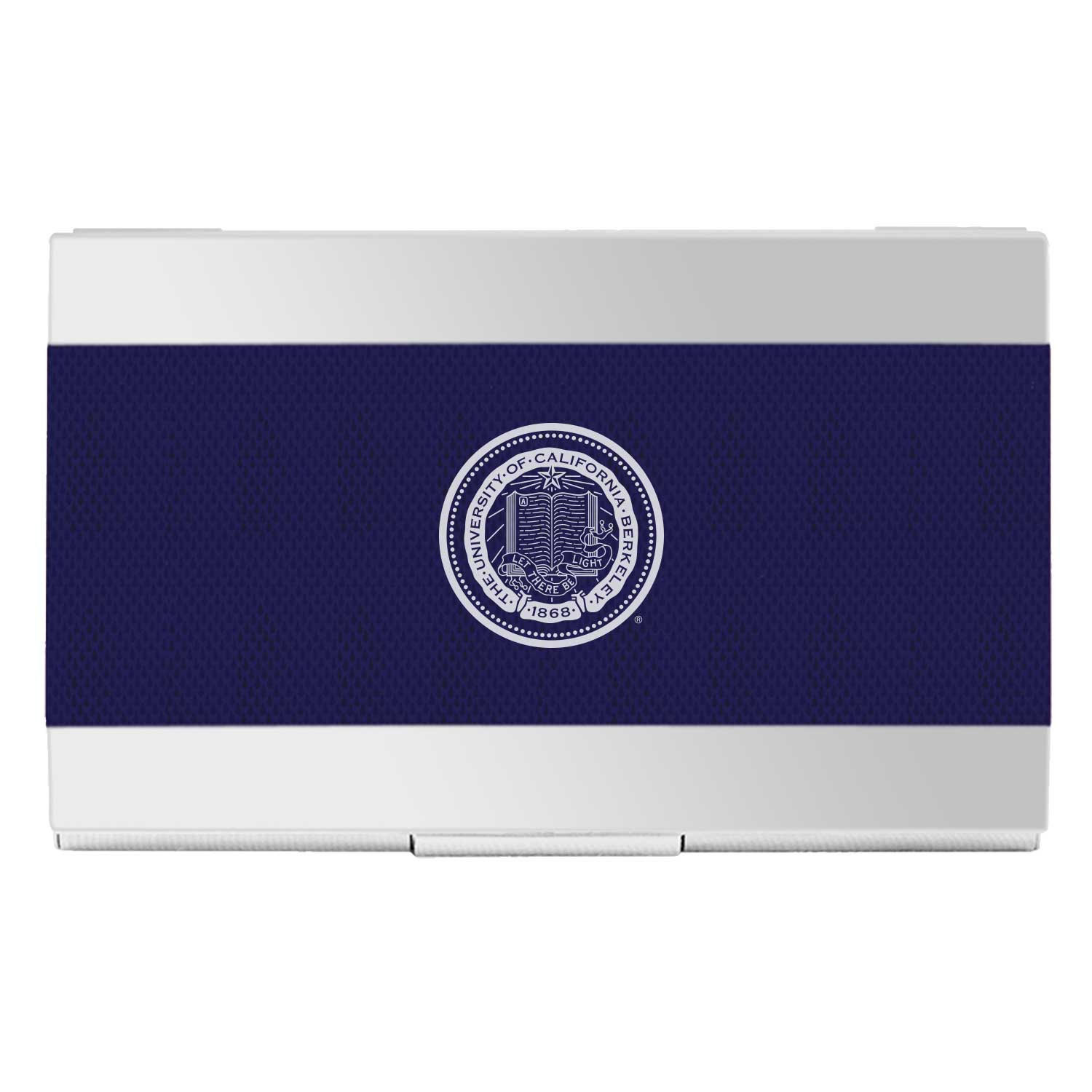 University of California Berkeley Carbon Fiber Business Card Holder