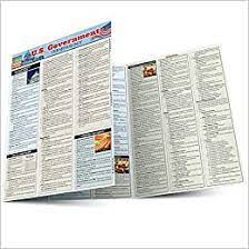 U.S. Government Terminology QuickStudy Laminated Study Guide