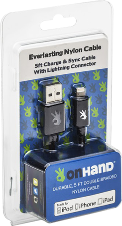 Everlasting Nylon Charge and Sync Cable