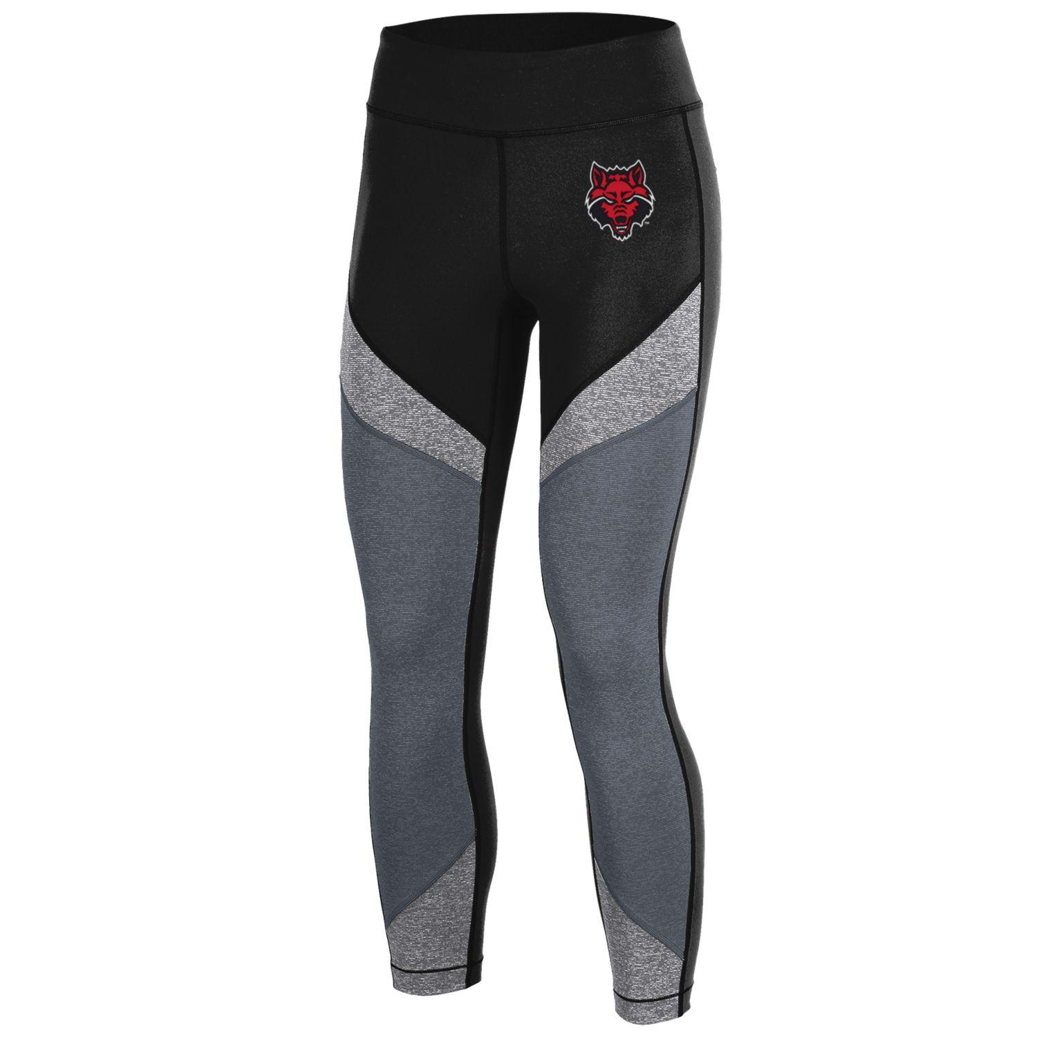 Red Wolves Armour Colorblock Crop Pants