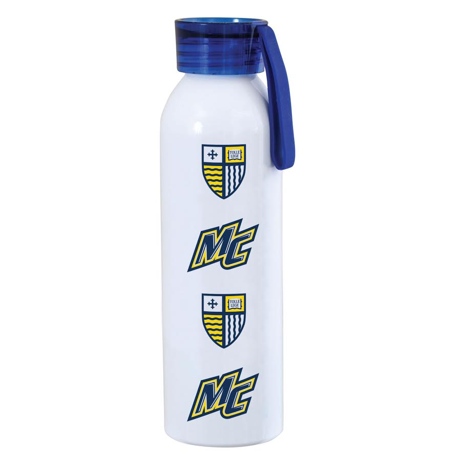 Navy Freetown Sport Water Bottle