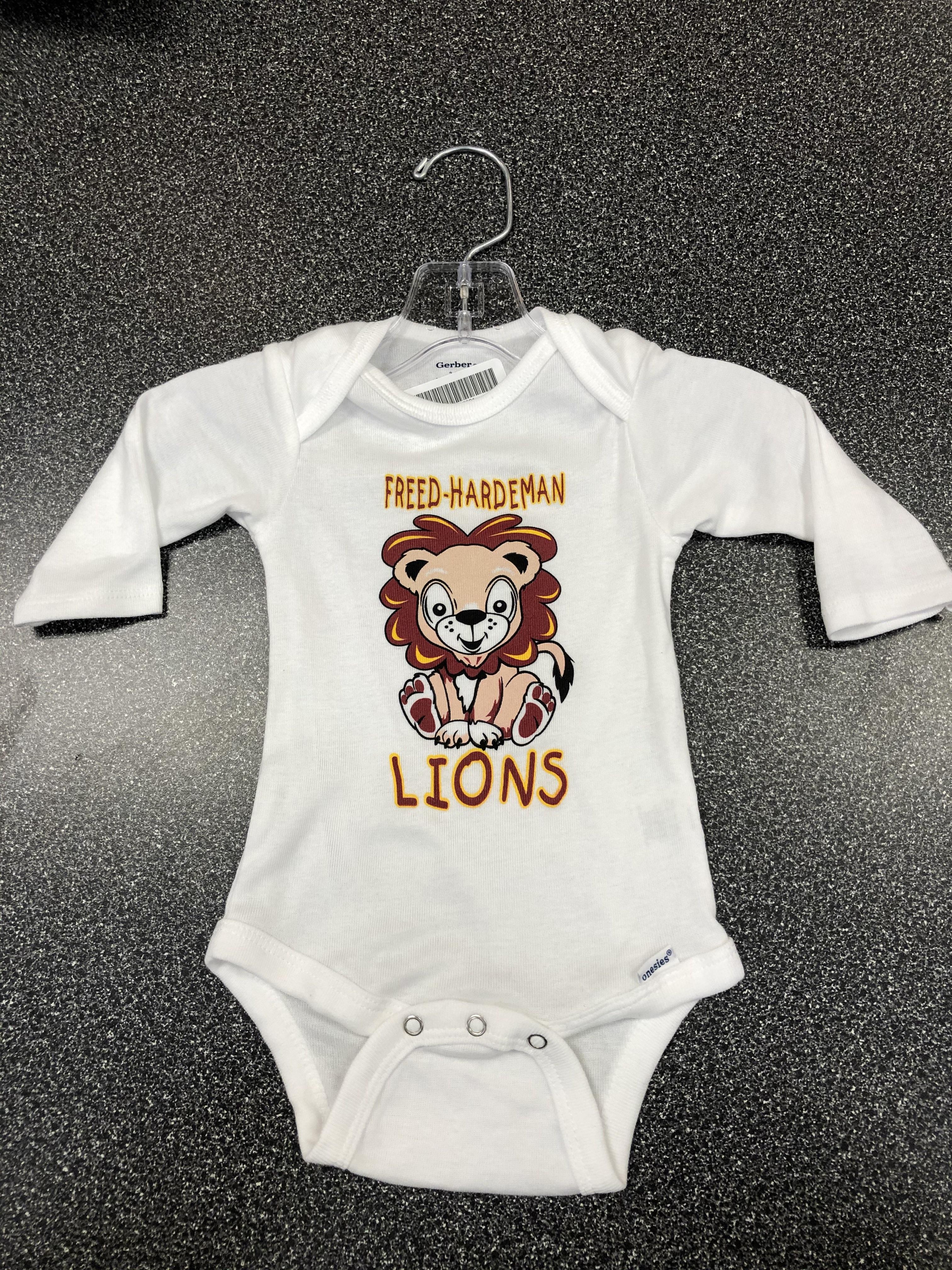 Baby Lion Onesie LS