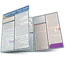 Writing Style & Usage QuickStudy Laminated Study Guide