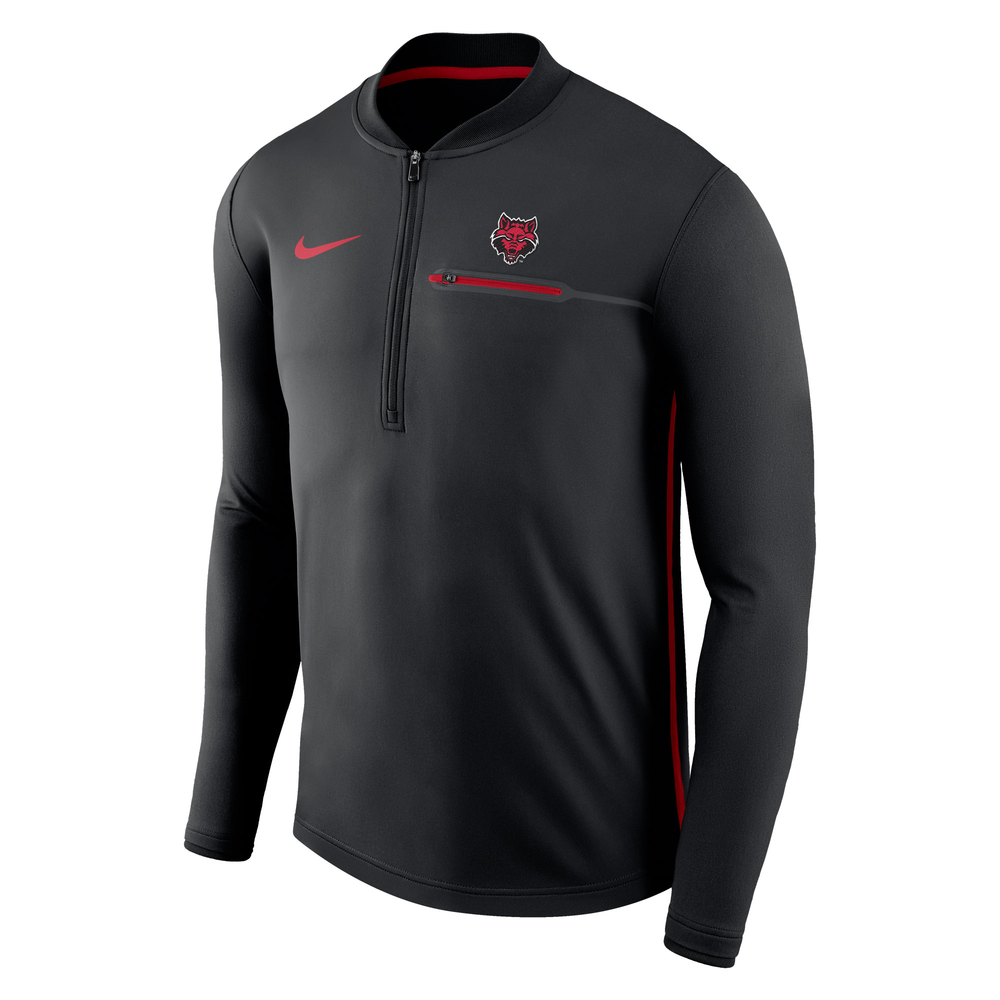 Red Wolves Coaches 1/2 Zip Pull Over