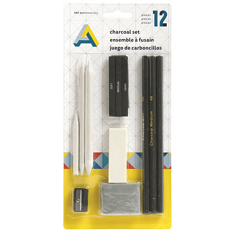 Art Alternatives Charcoal Set 12pc